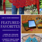 This Week We Feature: Knitting and so on, American Crochet and Eye Love Knots!