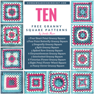 10 Free Granny Square Patterns
