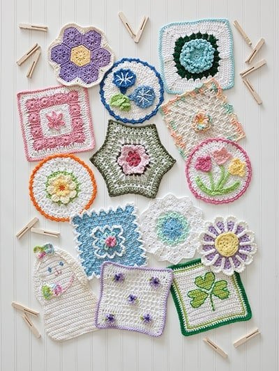 Spring Collection - A Year of Dishcloths - Annie's