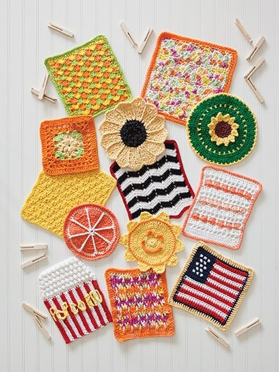 Summer Collection - A Year of Dishcloths - Annie's