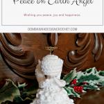 #12WeeksChristmasCAL Peace on Earth Angel Oombawka Design Crochet