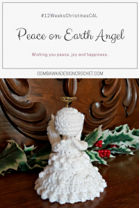 Peace on Earth Angel Pattern.
