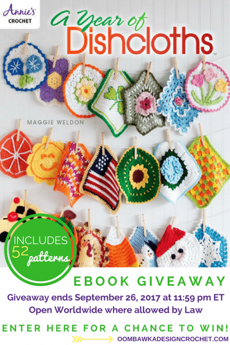A Year of Dishcloths Review and Giveaway Ends September 26 1159 pm et