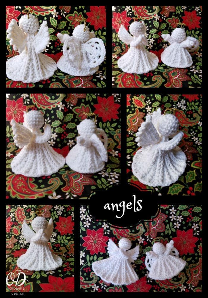 Christmas Angel - Free Patterns - Oombawka Design
