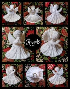 Angels - Christmas Angel Free Pattern Oombawka Design