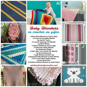 10 Free Baby Blanket Patterns
