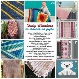 Baby Blankets to Crochet As Gifts - OombawkaDesignCroche