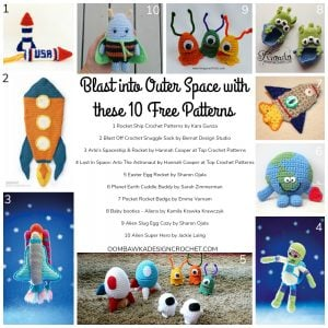 Blast into Outer Space with these 10 Free Patterns