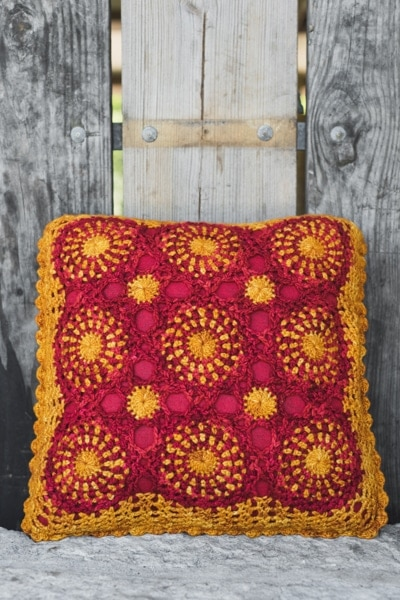 Fall for Floral Pillow