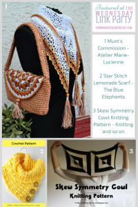 Find out what's new with Atelier Marie-Lucienne, The Blue Elephants and Knitting and so on
