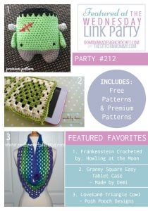 Wednesday Link Party Featured Favorites: Howling at the Moon, Made by Demi and Posh Pooch Designs!