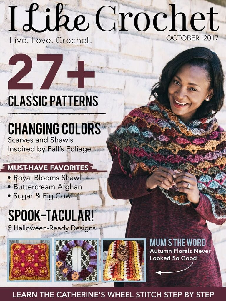 Fall into the October Issue of I Like Crochet Today!