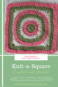 September's Featured Charity – Knit-a-Square