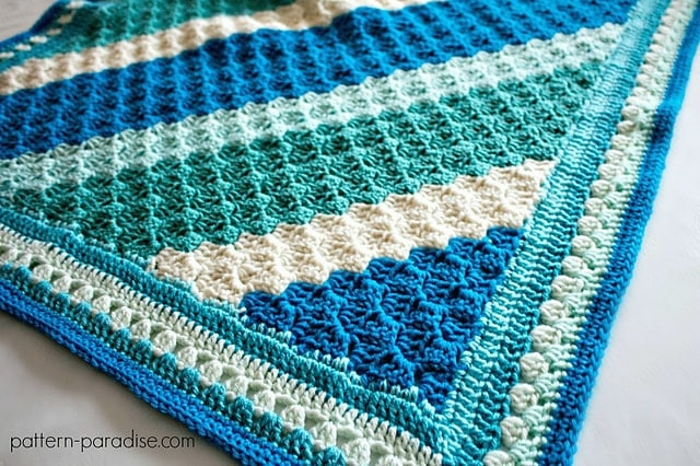 Crochet Casserole C2C Blanket