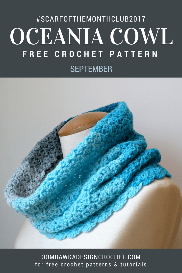 Oceania Cowl Free Pattern ODC