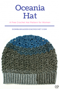 Oceania Hat – A Free Crochet Hat Pattern for Women!