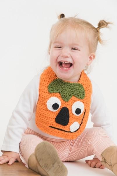 Pumpkin Pal Bib