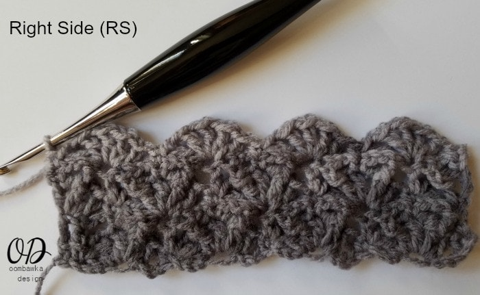 Right Side Shades of Grey Scarf - Oombawka Design