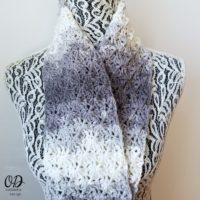 Shades of Grey Scarf - Oombawka Design