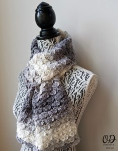Shades of Grey Scarf - Oombawka Design