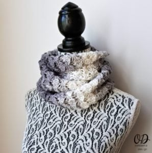 Shades of Grey Scarf Pattern