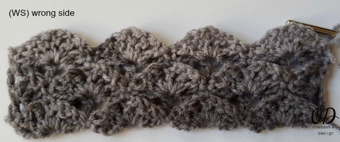 WS Shades of Grey Scarf - Oombawka Design