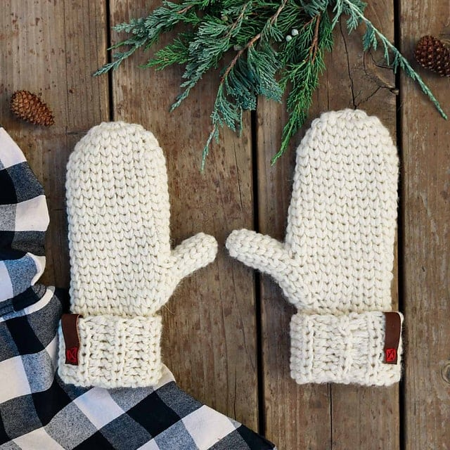 Morning Mittens by Make and Do Crew Featured on Oombawka Design