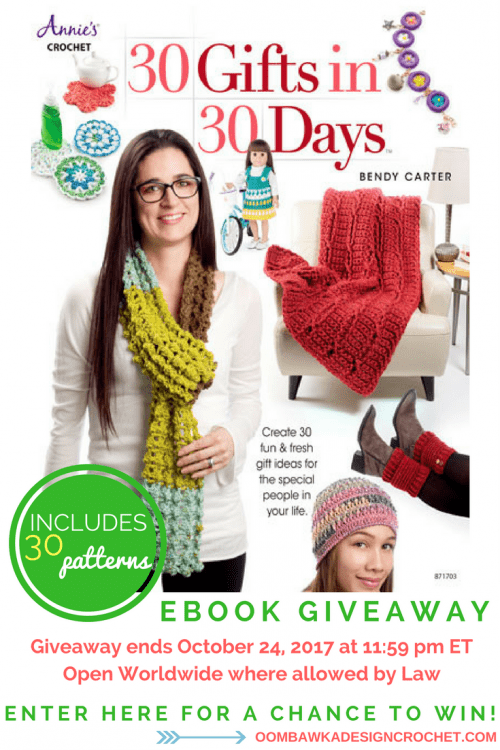 30 Gifts in 30 Days Review and Giveaway at Oombawka Design
