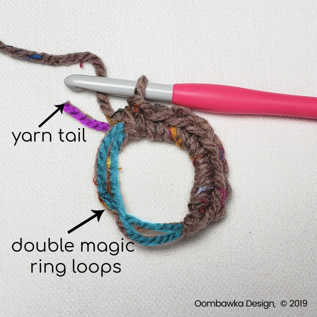 Step 8 Double Magic Ring Tutorial