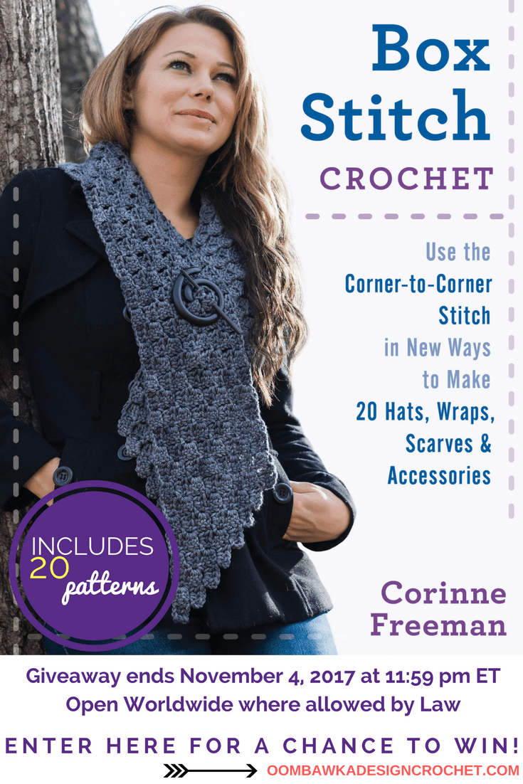 Box Stitch Crochet Book Giveaway at Oombawka Design Crochet