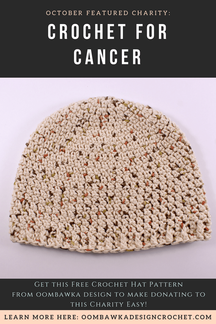 Crochet for Cancer October 2017 Featured Charity of the Month