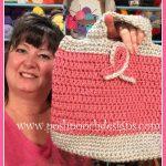 Cancer Awareness Bag. Posh Pooch Designs.