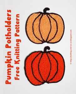 Featured Pumpkin from Knitting and So On Featured at The Wednesday Link Party