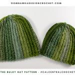 The Bulky Hat Pattern OombawkaDesign