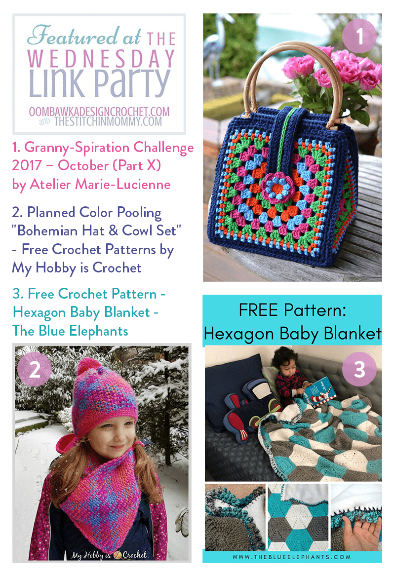 Featuring Granny Square Projects, Color Pooling Projects and