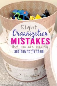 Organization-Mistakes Featured At The Wednesday Link Party