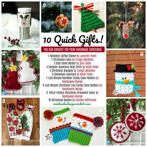 Free Pattern Friday – Make These 10 Quick Gifts!