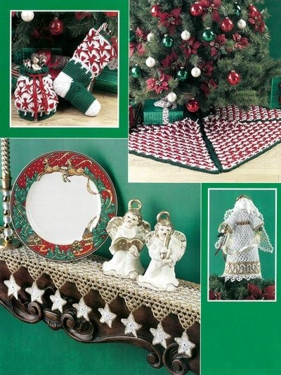 Back Cover Review of Polish Star Christmas by Dot Drake at Annie's Craft Store