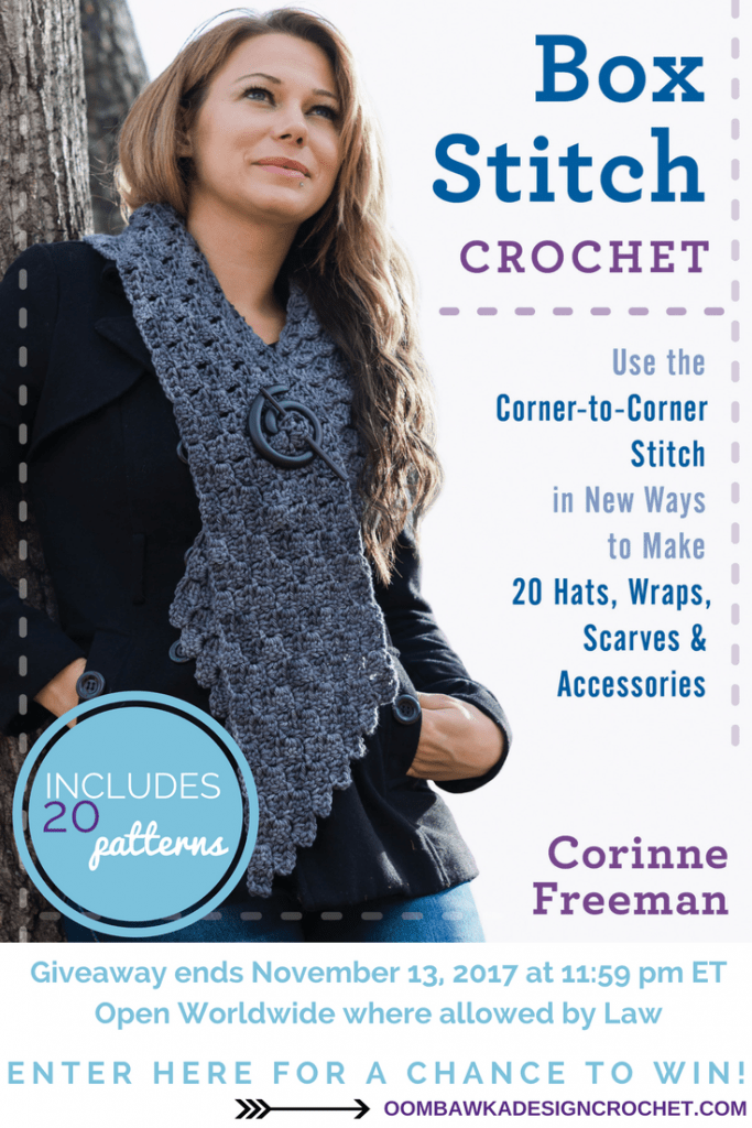Box Stitch Crochet by Corinne Freeman Giveaway 2
