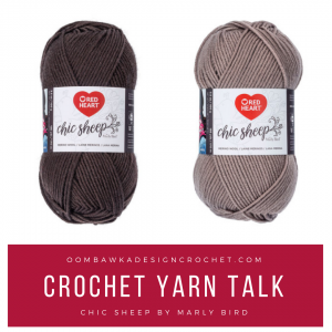 Crochet Yarn Talk – It's New! Check out Chic Sheep Yarn by Marly Bird
