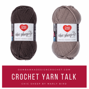 Crochet Yarn Review Chic Sheep By Marly Bird at Red Heart