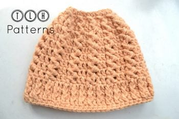Messy Bun Hat - TLH - Featured on FCPF - ODC