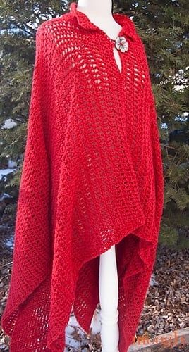 10 Fairy Tale Poncho by Tamara Kelly - Featured on Free Pattern Friday at ODC