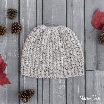 Malia Messy Bun Hat - Featured at FCPF ODC