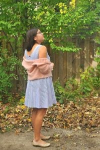 DIY: Crochet Linen and Lace Cardigan in Mohair by Annelies Baes Featured at The Wednesday Link Party