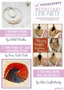 The Wednesday Link Party Features: Wild Moths, Frau Tschi-Tschi and LiliaCraftParty!
