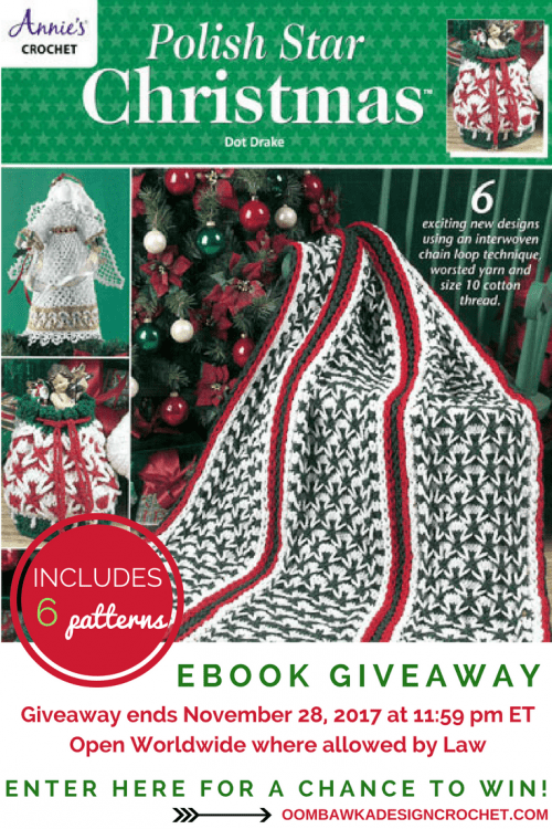 Polish Star Christmas Giveaway Ends November 28 2017 1159pmET OombawkaDesignCrochet