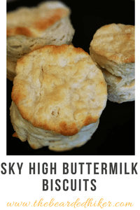 Sky High Buttermilk Biscuits - The Wednesday Link Party Features: Knitting and So On, The Bearded Hiker and Frau Tschi Tschi