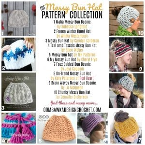 e22a8cbd41b Have You Seen These 10 New Messy Bun Hat Patterns  • Oombawka Design Crochet