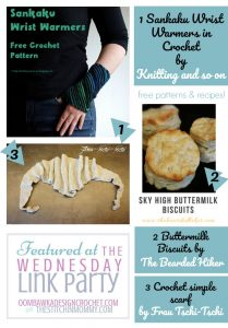 The Wednesday Link Party Features: Knitting and So On, The Bearded Hiker and Frau Tschi Tschi
